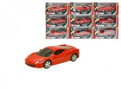 Bburago 1:43 Ferrari Race & Play na baterie se světlem a zvukem