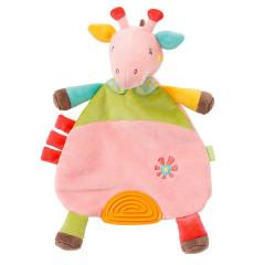 FEHN hračka s kousátkem žirafa