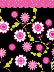 Dárková taška Maxi Květinky 46 x 33 cm Albi