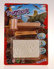 Tesání Zkamenělina Dinosaurus