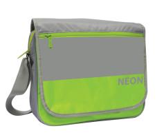 Taška přes rameno na šířku OXY NEON GREEN