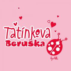Body dlouhý rukáv s nápisem TATÍNKOVA BERUŠKA vel. 74 - 80