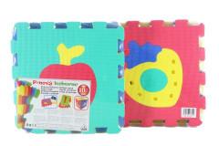 Pěnový koberec puzzle ovoce