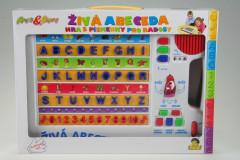 Tabulka naučná, živá abeceda