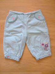 Kalhoty dívčí Cherokee vel.74 BAZAR