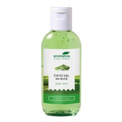 Čistící gel na ruce Aloe Vera 75ml Aromatica