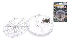 Sliz s pavoukem v krabičce 8x1,5cm