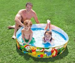 Samonosný bazén INTEX 58475 Medvídek Pú 122x25 cm