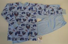 Bavlněné pyžamo truck sv. modrá vel. 116