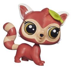 Littlest Pet Shop Jednotlivá zvířátka STRIPES REDDY 3804