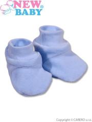 Dětské bačkůrky New Baby modré vel. 62