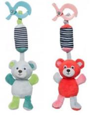 Plyšová hračka s klipem Medvídci Canpol