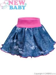 Kojenecká suknička New Baby Light Jeansbaby růžová vel. 80