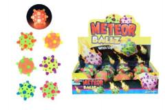 Míček/hopík meteor svítící 12cm
