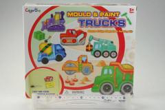 Výrobek ze sádry nákladní auta