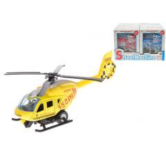 Helikoptéra skládací 14cm kov zpětný chod