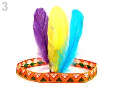 Karnevalová čelenka - indián