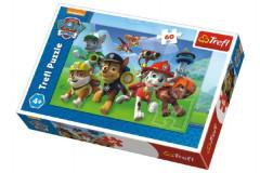 Puzzle Paw Patrol/Tlapková patrola Přip v krabici 21x14x4cm