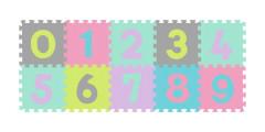 Puzzle pastelové Čísla Baby Ono
