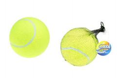 Tenisový míček mega 15cm v síťce