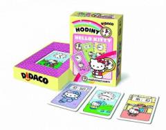 Vzdělávací karty Didaco Hodiny - Hello Kitty