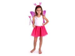 Karnevalový kostým motýlí víla