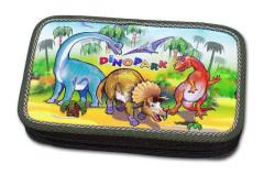 Školní penál 2-patra plněný Dinopark Emipo