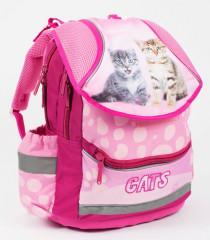 Anatomický školní batoh PLUS kočka 2016