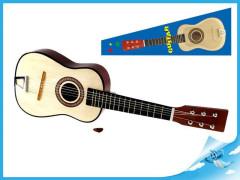 Kytara dřevěná 60cm v krabičce