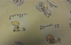 Souprava 3dílná povlečení - flanel děti 130 x 90 cm