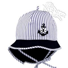 Letní zavazovací klobouk s plachetkou marine RDX