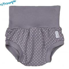 Bavlněné kalhotky, kraťásky šedé - Baby Nellys