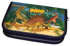 Školní pouzdro 1-klopa 01 Elegant plné Dino Emipo