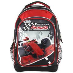 Školní batoh Target - Racing Team Formula - červená formule
