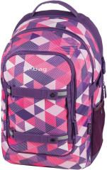 Studentský batoh be.bag BEAT Růžový