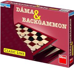 Hra Dáma a Backgammon