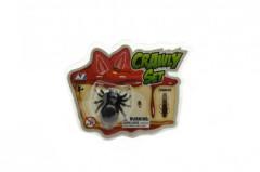 Pavouk a šváb lezoucí po skle plast 4cm