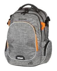 Studentský batoh WIZZARD Grey, Walker