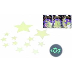 Hvězdy svítící ve tmě 4druhy