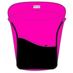 Nánožník Sport na kočárek ANGEL, barva růžová/černá