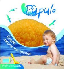 Pupulo - přírodní mořská houba pro děti v prémiové kvalitě