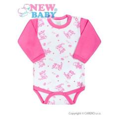 Kojenecké body New Baby Zebrababy II růžové