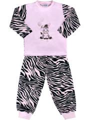 Dětské bavlněné pyžamo New Baby Zebra s balónkem růžové Vel. 122