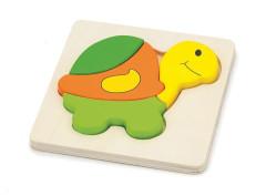 Puzzle pro nejmenší - želva Viga