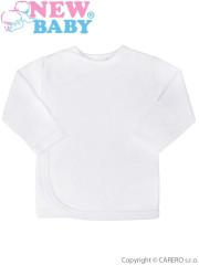 Kojenecká košilka New Baby bílá Vel. 50