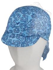 Funkční letní kšiltovka Coolmax s plachetkou RDX Vel. S, 3 - 5 let modrá