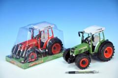 Traktor plastový 24,5cm na setrvačník