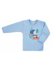 Kojenecká košilka Bobas Fashion Ježek modrá