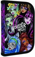 Jednopatrový penál plný Monster High