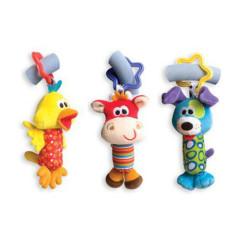 Cestovní závěsné hračky 3ks Playgro